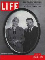 Life Magazine, October 5, 1953 - Italian family in U.S.