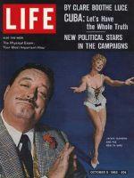 Life Magazine, October 5, 1962 - Jackie Gleason with Sue Ann Langdon