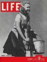 Life Magazine, October 6, 1941 - Farmer's daughter