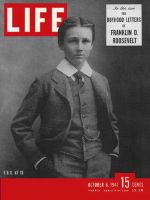 Life Magazine, October 6, 1947 - Franklin D. Roosevelt at 13