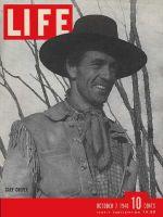 Life Magazine, October 7, 1940 - Gary Cooper