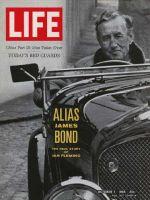 Life Magazine, October 7, 1966 - Author Ian Fleming, James Bond