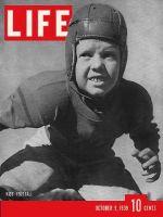 Life Magazine, October 9, 1939 - Kid's football
