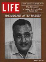 Life Magazine, October 9, 1970 - Egypt's Gamal Abdel Nasser