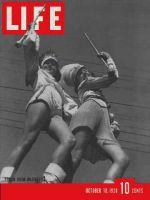 Life Magazine, October 10, 1938 - Legion majorettes