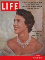 Life Magazine, October 10, 1955 - Princess Margaret