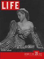 Life Magazine, October 11, 1948 - Actress Rita Colton