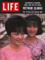 Life Magazine, October 11, 1963 - Vietnam's Madame Nhu with daughter