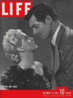 Life Magazine, October 13, 1941 - Turner and Gable