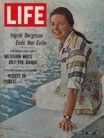 Life Magazine, October 13, 1967 - Ingrid Bergman