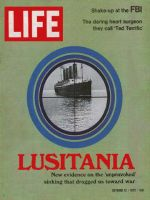 Life Magazine, October 13, 1972 - S.S. Luisitania