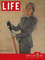 Life Magazine, October 14, 1946 - Fall styles