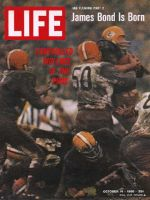 Life Magazine, October 14, 1966 - Football: Greenbay Packers and Cleveland Browns