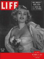 Life Magazine, October 15, 1951 - Zsa Zsa Gabor