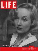 Life Magazine, October 17, 1938 - Carole Lombard