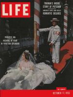 Life Magazine, October 17, 1955 - Venetian wedding
