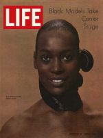 Life Magazine, October 17, 1969 - Model Naomi Sims