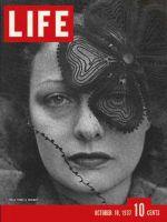 Life Magazine, October 18, 1937 - Veil craze