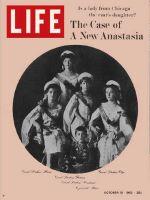 Life Magazine, October 18, 1963 - Grand Duchess Anastasia and family