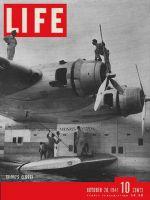 Life Magazine, October 20, 1941 - Pan Am Clipper