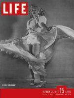 Life Magazine, October 21, 1946 - Gloria Grahame
