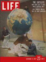 Life Magazine, October 21, 1957 - Tracing Sputnik