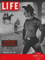 Life Magazine, October 22, 1951 - Champion bronc rider Casey tibbs