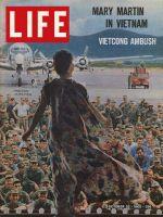 Life Magazine, October 22, 1965 - Mary Martin in Vietnam