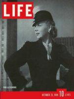 Life Magazine, October 23, 1939 - Womens fashions