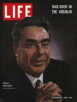 Life Magazine, October 23, 1964 - Leonid Brezhnev