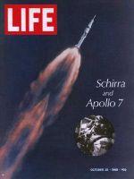 Life Magazine, October 25, 1968 - Apollo 7 at take-off