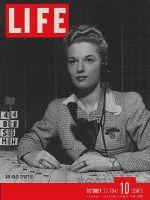 Life Magazine, October 27, 1941 - Air raid test