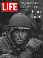 Life Magazine, October 27, 1967 - GI at Con Thien