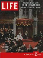 Life Magazine, October 28, 1957 - Queen in Canada