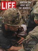 Life Magazine, October 28, 1966 - Wounded marine