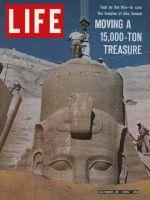 Life Magazine, October 29, 1965 - Temples of Abu Simbel