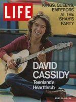 Life Magazine, October 29, 1971 - David Cassidy