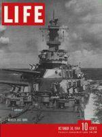 Life Magazine, October 30, 1944 - Super battleship