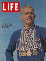 Life Magazine, October 30, 1964 - Don Schollander, olympics
