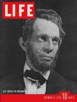 Life Magazine, October 31, 1938 - Raymond Massey as Lincoln