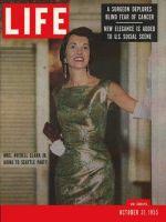 Life Magazine, October 31, 1955 - Elegant evenings