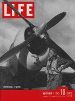 Life Magazine, November 1, 1943 - P-47s at work