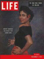 Life Magazine, November 1, 1954 - Dorothy Dandridge