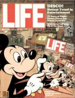 Life Magazine, November 1, 1978 - Mickey Mouse