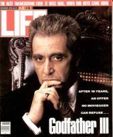 Life Magazine, November 1, 1990 - Al Pacino In Godfather III