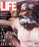 Life Magazine, November 1, 1991 - Sistine Chapel, Paintings Cleaned