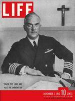 Life Magazine, November 2, 1942 - Navy chaplain