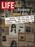 Life Magazine, November 3, 1967 - Composite: runaway kids