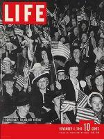 Life Magazine, November 4, 1940 - Voters' rally