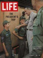 Life Magazine, November 4, 1966 - President Johnson goes to Vietnam